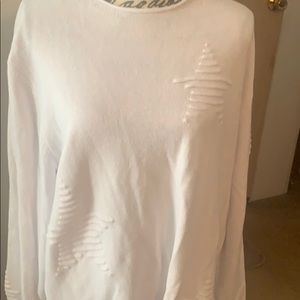 Grace the perfect fit white sweater